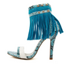 The Luxe Fringed Sandals