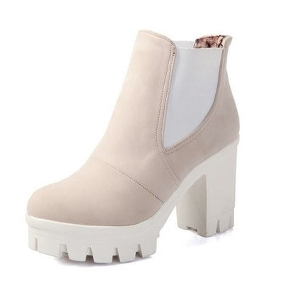 Platform Ankle Boots - 4 colors - Awesome World - Online Store  - 6