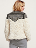 Faux Fur Studded Coat - Awesome World - Online Store  - 3