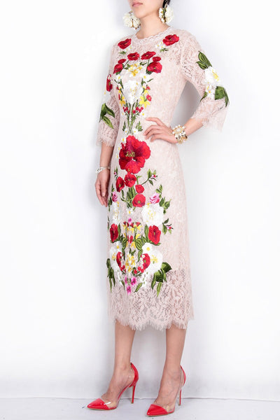 Spring Flower Dress - 2 Colors