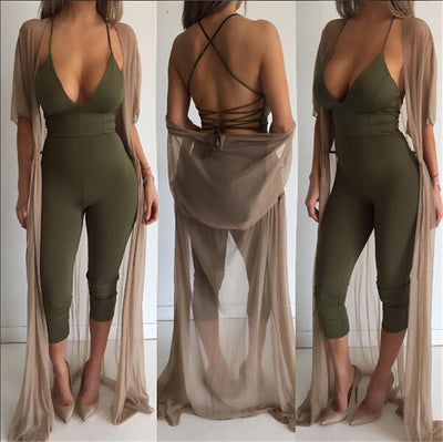 Soft Backless Jumpsuit - Awesome World - Online Store  - 4