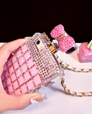 Rhinestone Bow Case iPhone - Awesome World - Online Store  - 3