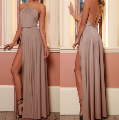 One Shoulder Famous Dress - 4 colors - Awesome World - Online Store  - 3