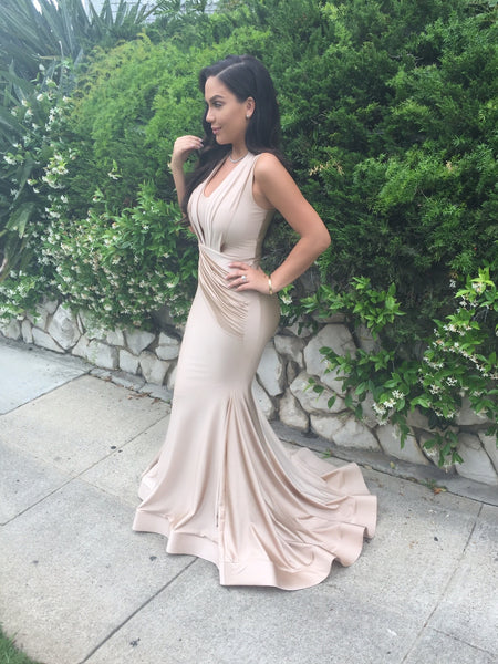 The one - Slinky Nude Gown - Awesome World - Online Store  - 6