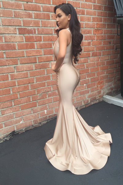 The one - Slinky Nude Gown - Awesome World - Online Store  - 2