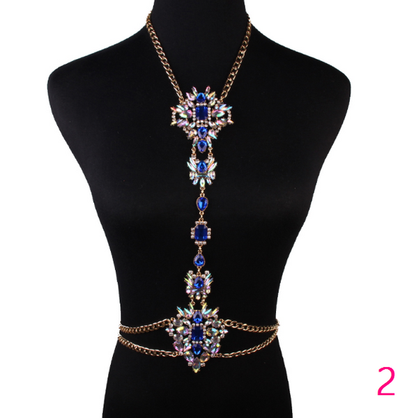 Tropical Body Chain - Awesome World - Online Store  - 2