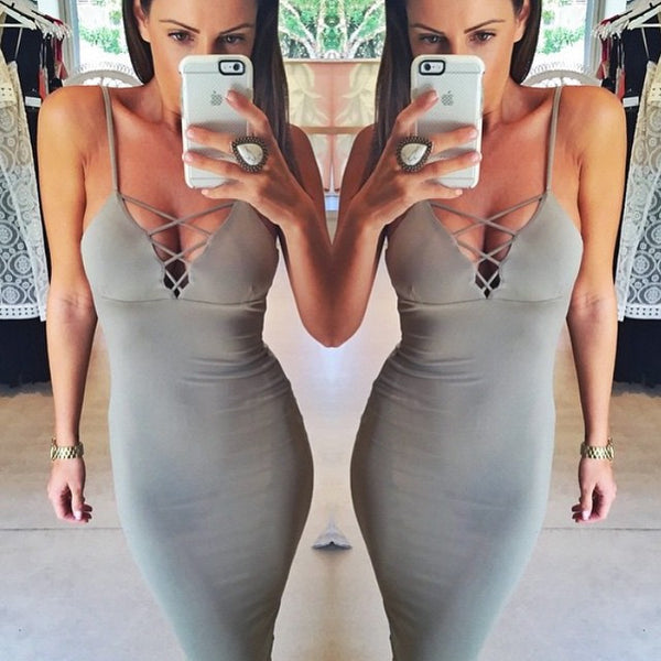 Racy Bodycon Dress - Awesome World - Online Store  - 3