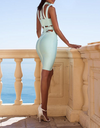 Cut Out Strappy Bandage Dress - 3 colors - Awesome World - Online Store  - 1