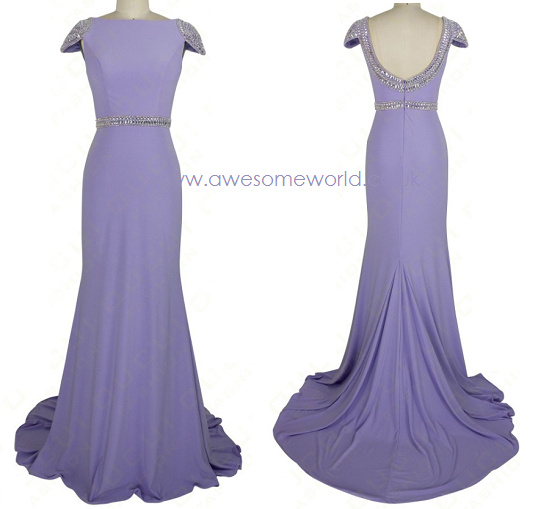 Orchid Backless Gown - Awesome World - Online Store  - 5