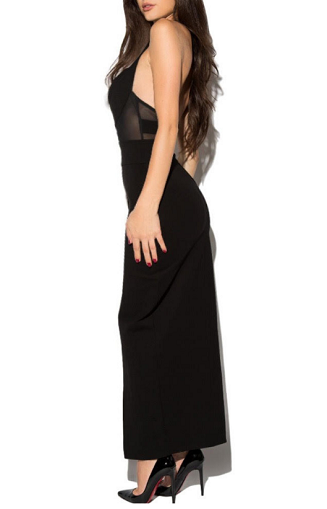 Maxi Cut Out Slit Dress