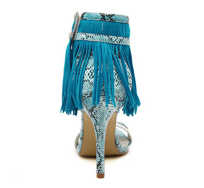 The Luxe Fringed Sandals - Awesome World - Online Store  - 5