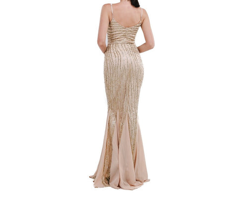 NY Gold Dress - 1 piece Limited Edition