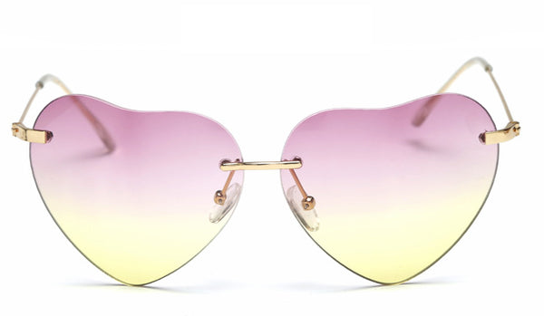 Suiza Heart Sunglasses - Awesome World - Online Store  - 2