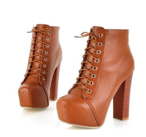 Ankle Blogger Boots - 4 Colors - Awesome World - Online Store  - 4