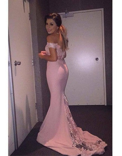 Doll Pink Lace Gown - Awesome World - Online Store  - 1