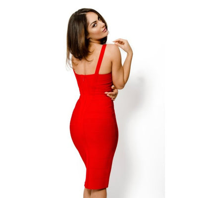 Sleekin' Out Thigh Bandage Dress - 11 colors - Awesome World - Online Store  - 13