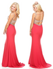 Mesh Cut Out Sequinned Gown - 3 colors - Awesome World - Online Store  - 1
