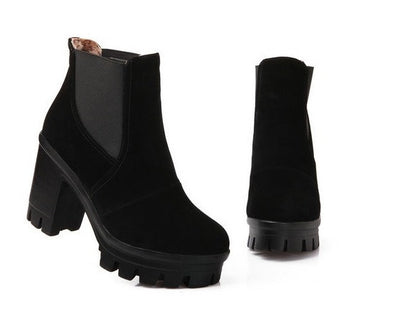 Platform Ankle Boots - 4 colors - Awesome World - Online Store  - 7