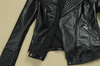 Black Rivets Leather Jacket - Awesome World - Online Store  - 5