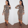 Mesh Striped Dress - Nude or Black - Awesome World - Online Store  - 4