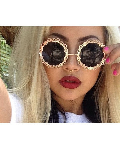 Flower Sunglasses - 4 colors - Awesome World - Online Store  - 1