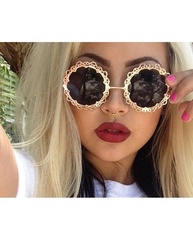Flower Sunglasses - 4 colors