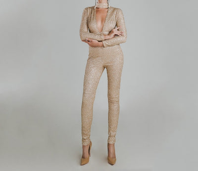 Gold Dot Premim Jumpsuit - Limited Edition - Awesome World - Online Store  - 3