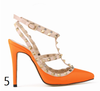 12 cm Heel Bright Rivets Pumps - 10 colors - Awesome World - Online Store  - 9