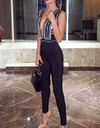Couture Beads Bandage Jumpsuit - Awesome World - Online Store  - 3