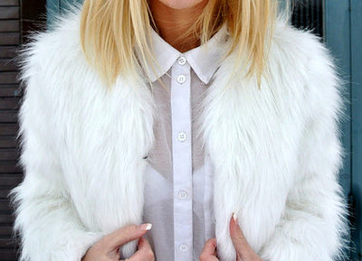 Faux Fur Jacket - 4 Colours - Awesome World - Online Store  - 6