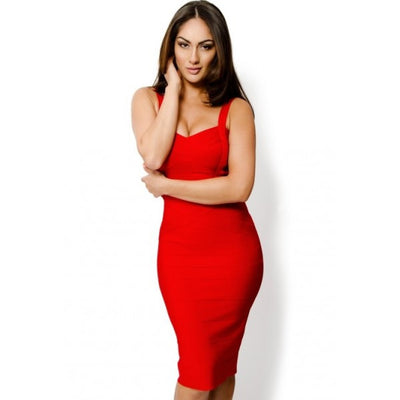 Sleekin' Out Thigh Bandage Dress - 11 colors - Awesome World - Online Store  - 14
