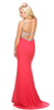 Mesh Cut Out Sequinned Gown - 3 colors - Awesome World - Online Store  - 8