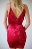 Velvet Celeb Dress - Red or White - Awesome World - Online Store  - 7
