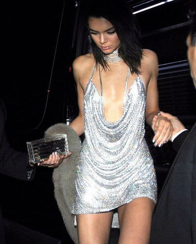 Kendall & Paris Metallic Dress - Limited Stock - Awesome World - Online Store  - 7