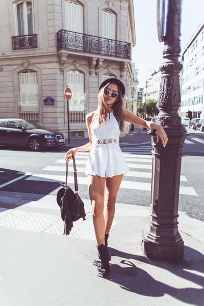 White Sensual Lace Playsuit - Awesome World - Online Store  - 6