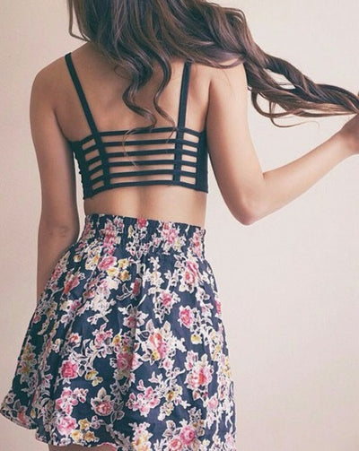 Backless Crop Top - 2 colors - Awesome World - Online Store  - 5