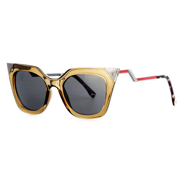 Temple Rhinestone Sunglasses