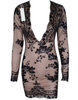 Glam Edition - Deep V Black Sequins Dress - Awesome World - Online Store  - 3
