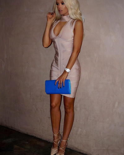 All the Right Places Bandage Dress - Awesome World - Online Store  - 4
