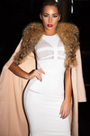 Mesh Snow Bandage Dress - Awesome World - Online Store  - 5