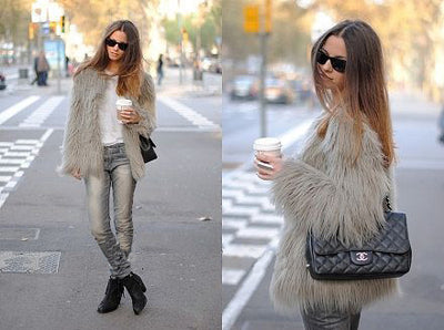 Faux Fur Jacket - 4 Colours - Awesome World - Online Store  - 7