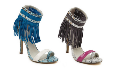 The Luxe Fringed Sandals - Awesome World - Online Store  - 6