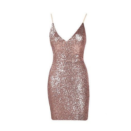 Bow Sequined Dress - Choose Maxi or Mini - Limited Edition - Awesome World - Online Store  - 7
