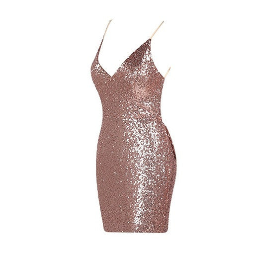 Bow Sequined Dress - Choose Maxi or Mini - Limited Edition - Awesome World - Online Store  - 6