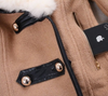 Collar Fleece Coat Jacket - 2 colors - Awesome World - Online Store  - 10