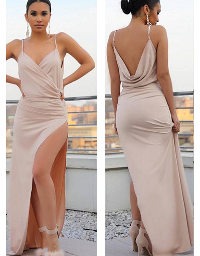 Glamorous Backless Dress