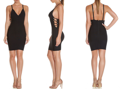 Cut Out NY Bandage Dress - 2 colors - Awesome World - Online Store  - 7