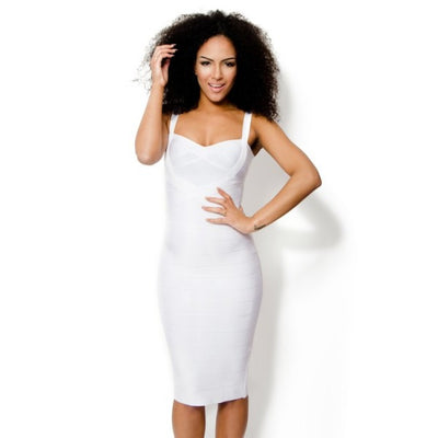 Sleekin' Out Thigh Bandage Dress - 11 colors - Awesome World - Online Store  - 16