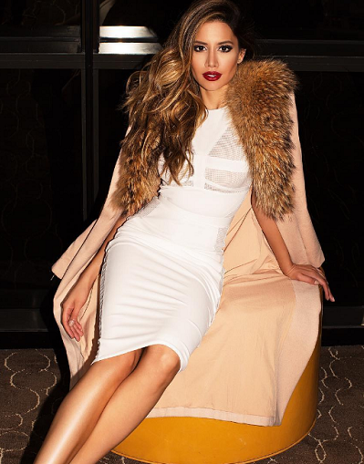 Mesh Snow Bandage Dress - Awesome World - Online Store  - 2