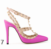 12 cm Heel Bright Rivets Pumps - 10 colors - Awesome World - Online Store  - 11